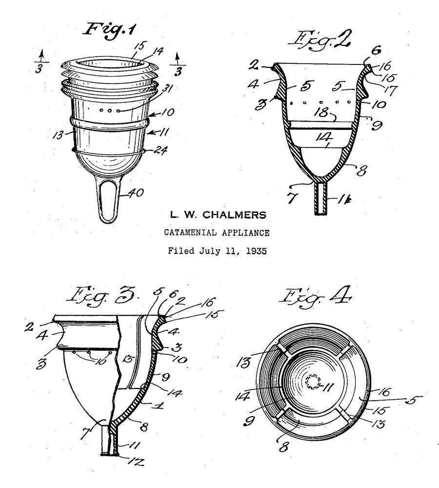 coppetta mestruale brevetto
