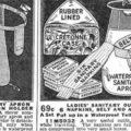 Historia de los productos de protección femenina
