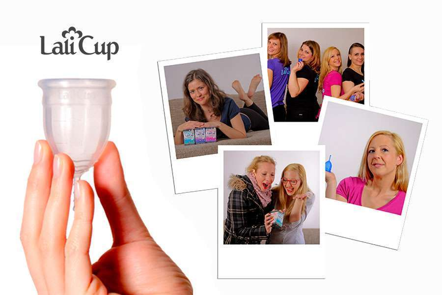 the first menstrual cup in Slovenia