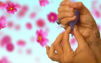 come rimuovere la coppetta mestruale