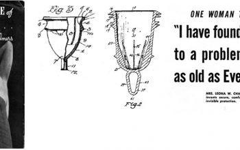 Invención de la copa menstrual